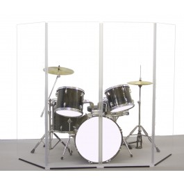 PRO Drum Shield 6ft 4 panel