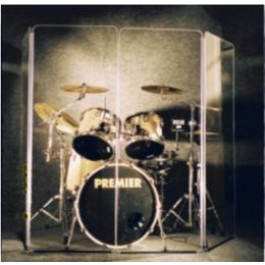 DrumPerfect PRO 5.5 x 5 Panel Drum Shield