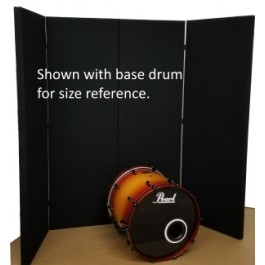 Sound Trap 6.5ft tall with base drum for reference