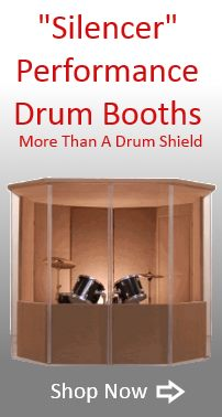 Drum Booths, Drum Enclosures, Drum Rooms. Call us at (888) 983-3786.